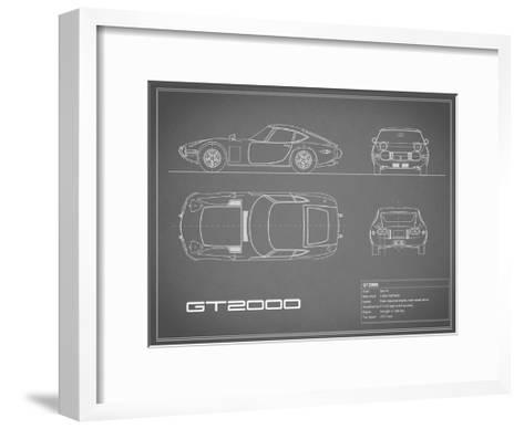 Toyota GT2000-Grey-Mark Rogan-Framed Art Print
