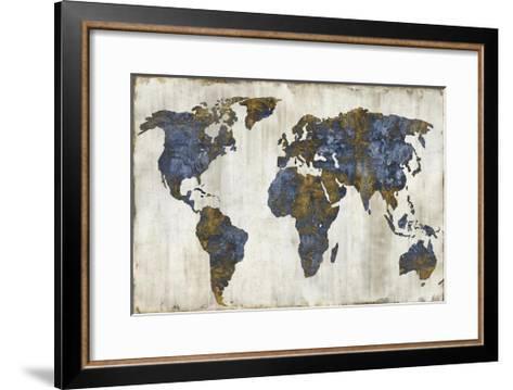 The World I-Russell Brennan-Framed Art Print