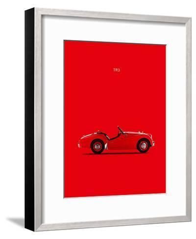 Triumph TR3 1959-Mark Rogan-Framed Art Print