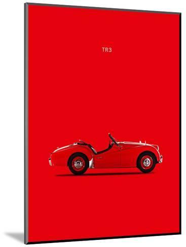 Triumph TR3 1959-Mark Rogan-Mounted Giclee Print