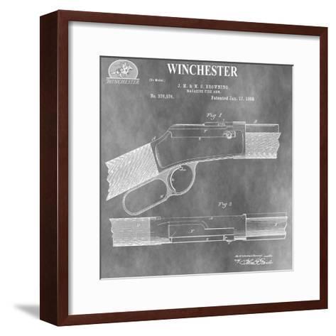 Winchester Magazine Fire Arm,-Dan Sproul-Framed Art Print