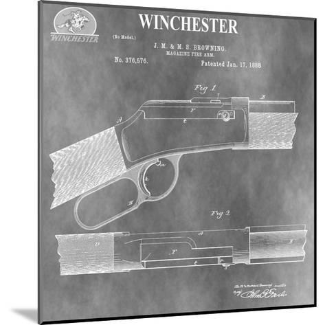 Winchester Magazine Fire Arm,-Dan Sproul-Mounted Giclee Print