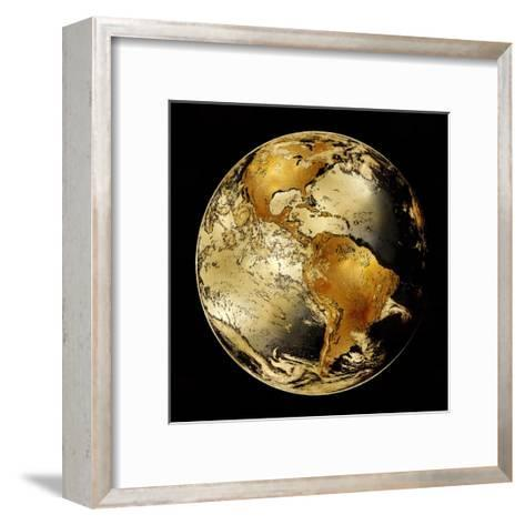 World Turning IV-Russell Brennan-Framed Art Print
