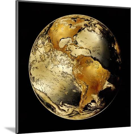 World Turning IV-Russell Brennan-Mounted Giclee Print