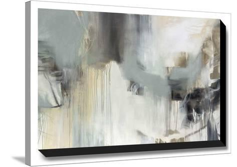 Argentum-Cat Tesla-Stretched Canvas Print