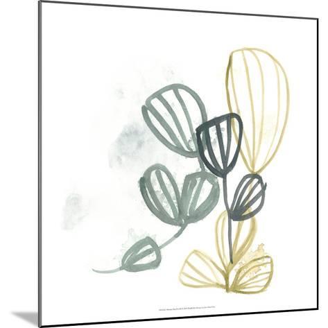 Abstract Sea Fan III-June Erica Vess-Mounted Giclee Print