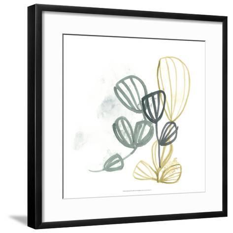 Abstract Sea Fan III-June Erica Vess-Framed Art Print