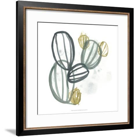 Abstract Sea Fan IV-June Erica Vess-Framed Art Print