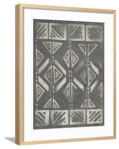Mudcloth Patterns III-June Erica Vess-Framed Art Print