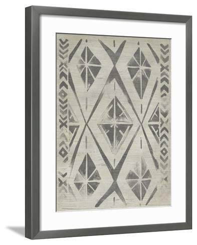 Mudcloth Patterns V-June Erica Vess-Framed Art Print