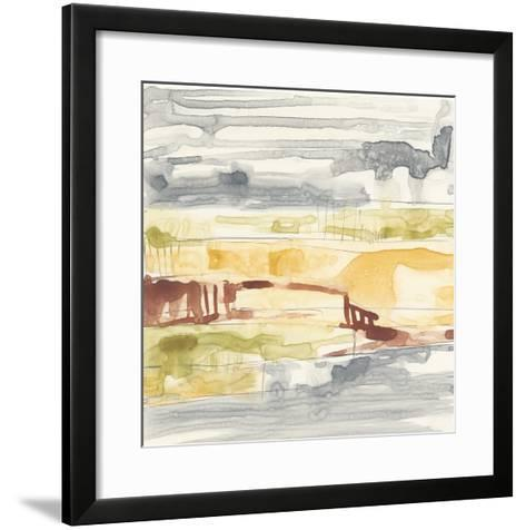 Tiered Layers I-Jennifer Goldberger-Framed Art Print