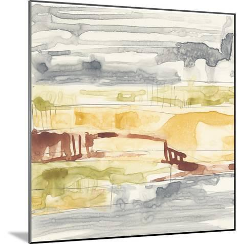 Tiered Layers I-Jennifer Goldberger-Mounted Giclee Print