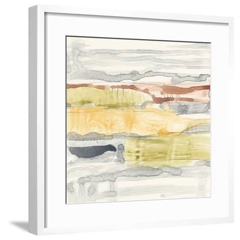 Tiered Layers II-Jennifer Goldberger-Framed Art Print