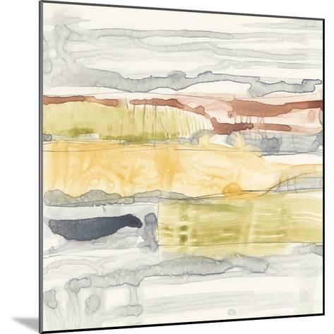 Tiered Layers II-Jennifer Goldberger-Mounted Giclee Print