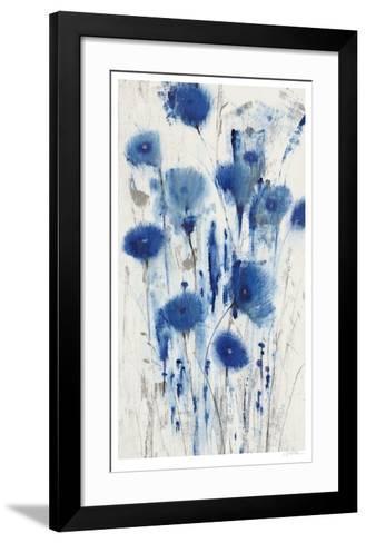 Blue Impressions I-Tim O'toole-Framed Art Print