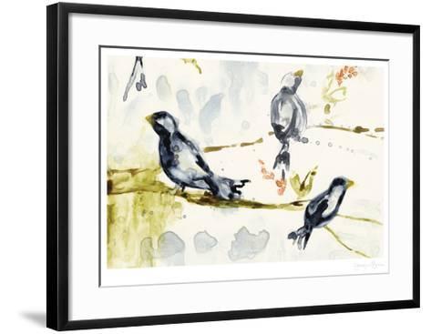 Morning Conversation II-Jennifer Goldberger-Framed Art Print