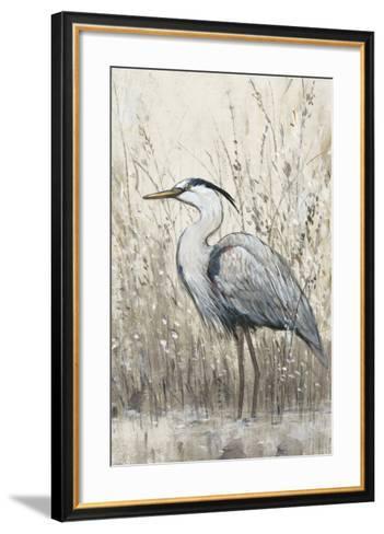 Hunt in Shallow Waters II-Tim O'toole-Framed Art Print
