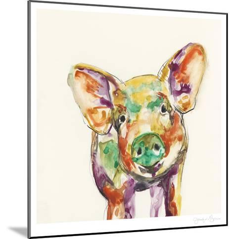 Hi Fi Farm Animals IV-Jennifer Goldberger-Mounted Limited Edition