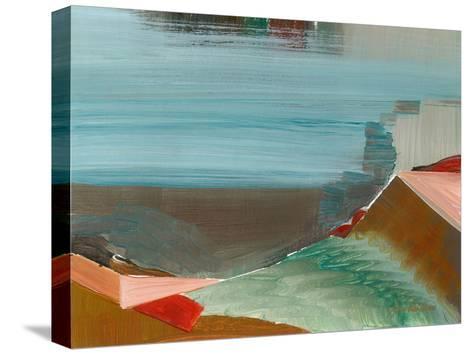 Jeweled Ledge-Joan Davis-Stretched Canvas Print