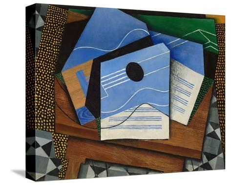 Guitar on a Table, 1915-Juan Gris-Stretched Canvas Print