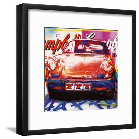 911 Condensed-Patrick Corn?e-Framed Art Print