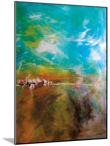 Abdikation Terrestre-Annie Rodrigue-Mounted Art Print