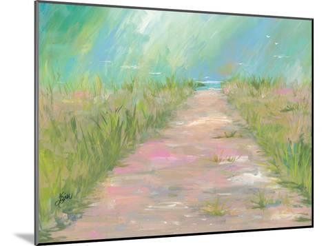 Beach Path-Terri Einer-Mounted Art Print