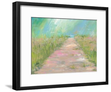 Beach Path-Terri Einer-Framed Art Print