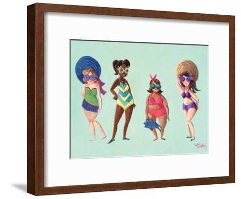 BeachBabeGals CaraKozik-Cara Kozik-Framed Art Print