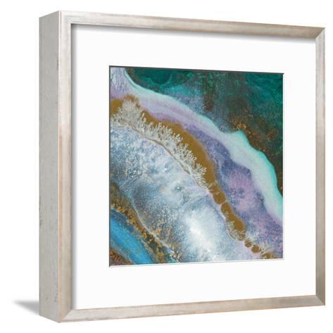 Blue Marble D-Jay Zinn-Framed Art Print