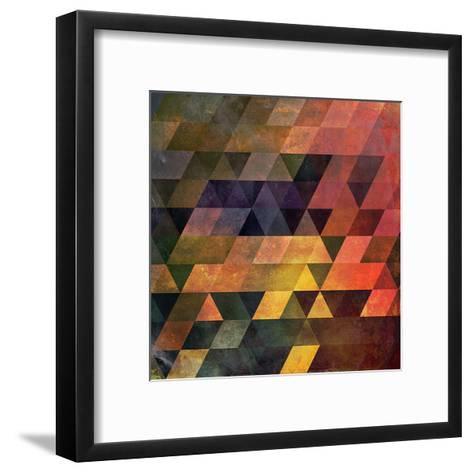 Chyynxxys-Spires-Framed Art Print