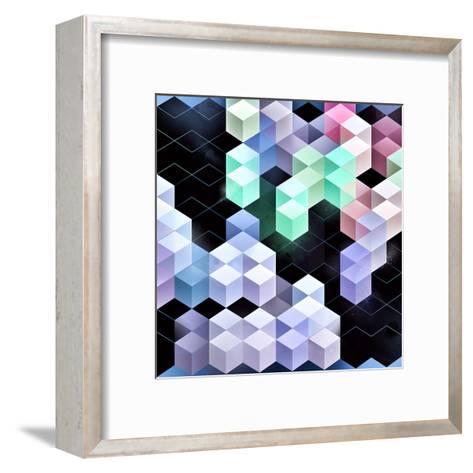 Blyckmynt-Spires-Framed Art Print