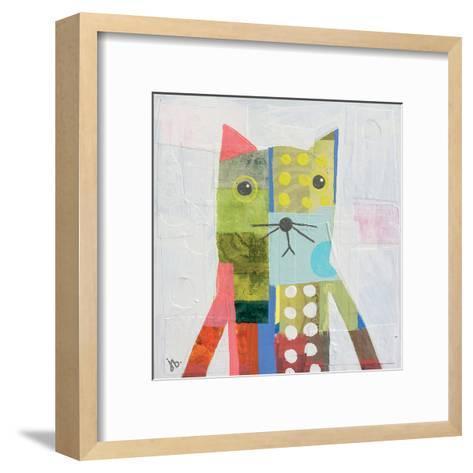 Cat-Julie Beyer-Framed Art Print
