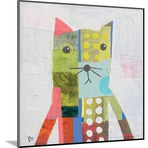 Cat-Julie Beyer-Mounted Art Print