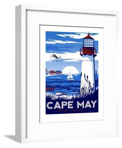 Capemay-Matthew Schnepf-Framed Art Print