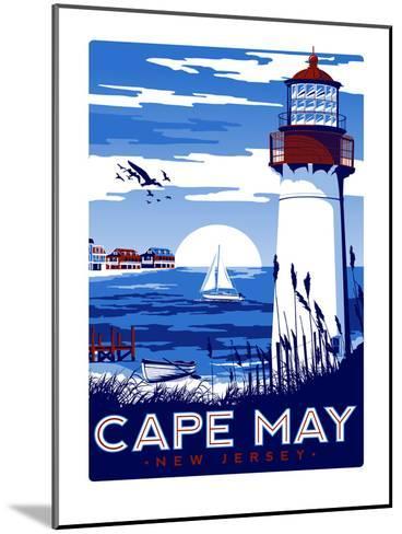 Capemay-Matthew Schnepf-Mounted Art Print