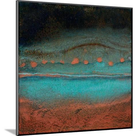 Bonfire Hill - Square-Jay Zinn-Mounted Art Print
