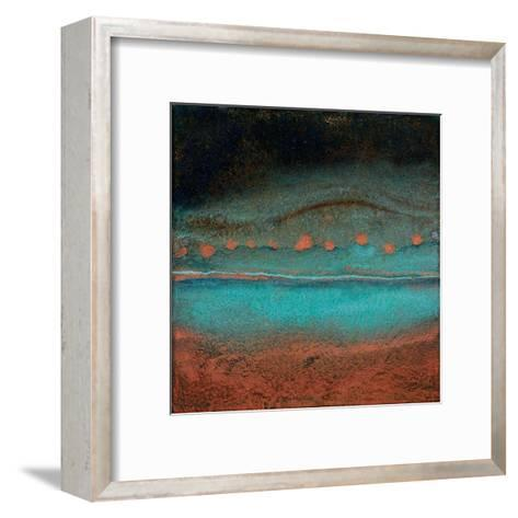 Bonfire Hill - Square-Jay Zinn-Framed Art Print
