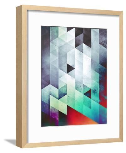 Cyld_Styck-Spires-Framed Art Print