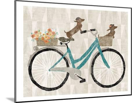 Doxie Ride Ver I-Wild Apple Portfolio-Mounted Art Print