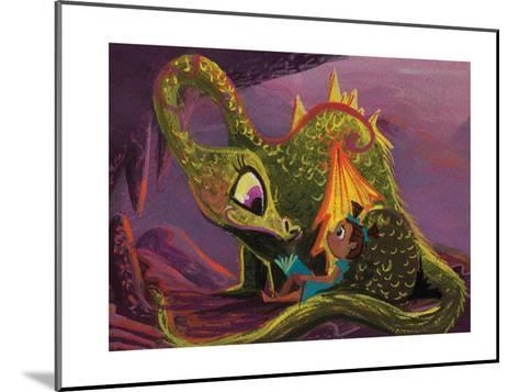 DragonRead CaraKozik-Cara Kozik-Mounted Art Print