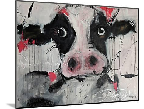 Cow Pink-Annie Rodrigue-Mounted Art Print