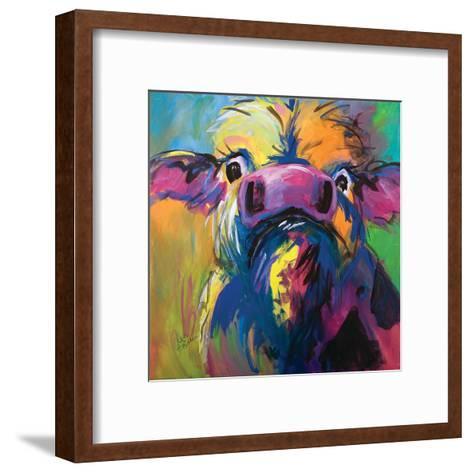 Colorful Cow-Terri Einer-Framed Art Print