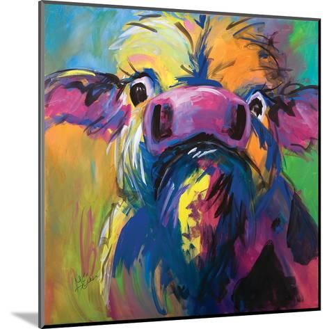 Colorful Cow-Terri Einer-Mounted Art Print