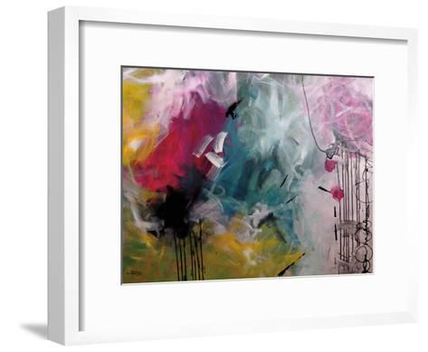 Crazy Fin-Annie Rodrigue-Framed Art Print