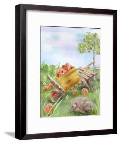 Fall Apples-Advocate Art-Framed Art Print