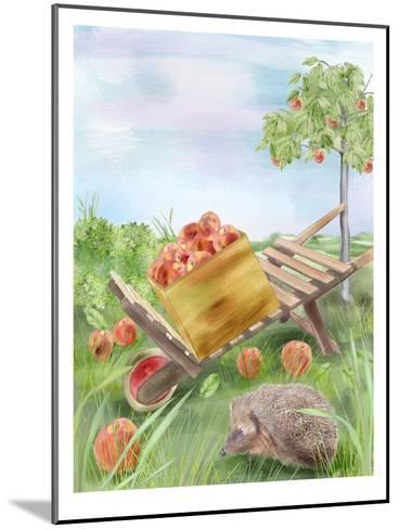 Fall Apples-Advocate Art-Mounted Art Print