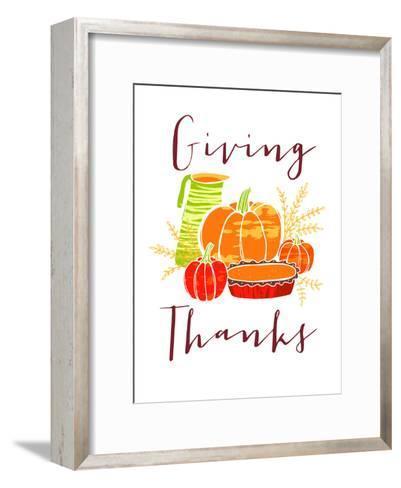 Giving Thanks-Advocate Art-Framed Art Print