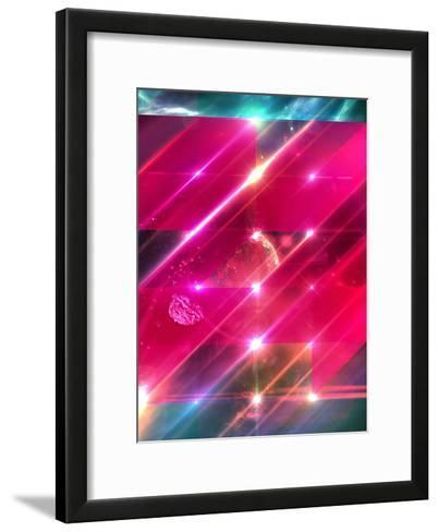 Glwwgymm-Spires-Framed Art Print