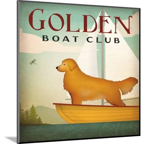 Golden Boat Club-Wild Apple Portfolio-Mounted Art Print